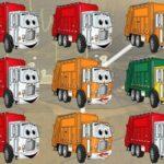 Garbage Trucks Matching