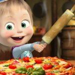 Masha And The Bear Pizzeria Game