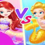 Mermaid Paper Doll Dress Up