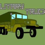 Military Trucks Coloring