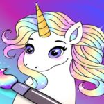 My Little Unicorn: Unicorn Coloring Book For Kids