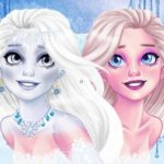 New Makeup Snow Queen Elsa