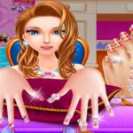 Play Fashion Nail Salon Game Online Free