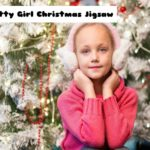 Pretty Girl Christmas Jigsaw