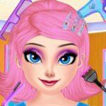 Princess Crazy Hair Challenge