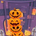Pumpkin tower halloween