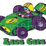 Race Cars Jigsaw
