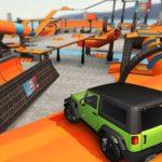 Realistic Car Stunt