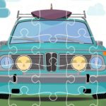 Retro Cars Jigsaw