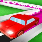 Roller Road Splat – Car Paint 3D‏