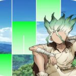 Senku Anime Dr. Stone Piano Tiles