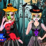 SISTERS HALLOWEEN DRESSES