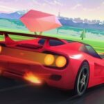 Toon Horizon Car Chase