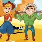 Wild West Cowboys Jigsaw