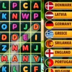 Word Search Countries