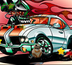 Cartoon Cars Hidden Stars