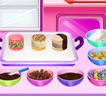 Cooking Macaron Ice Cream Sandwiches