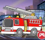 Fire Truck Crazy Race