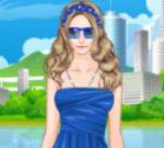 Helen Blue Beauty Dress Up