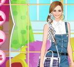 Helen Casual Suspenders Dress Up