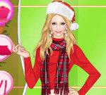 Helen Colorful Christmas Dress