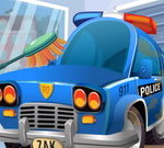 Police Car Cleaning