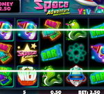 Slot Machine Space Adventure