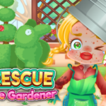 Funny Rescue The Gardener